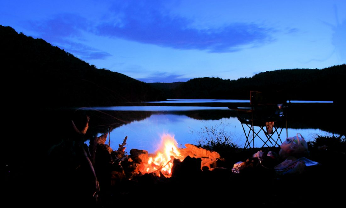 Darlık Barajı Gece