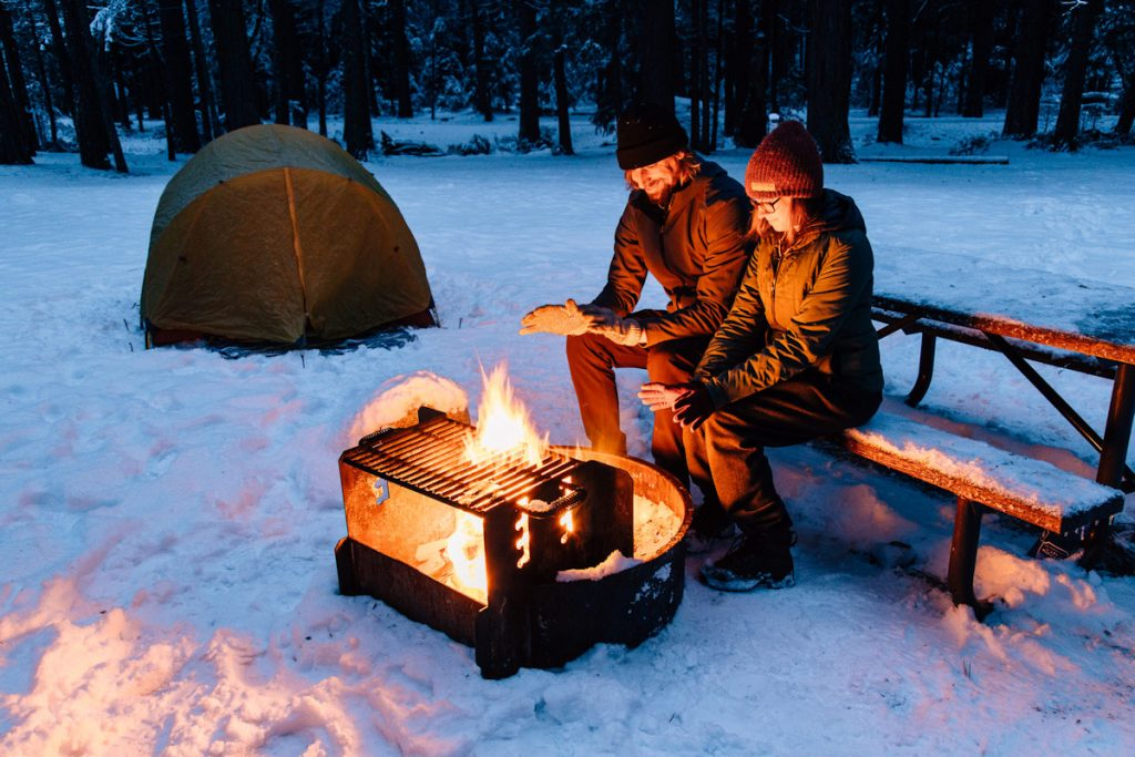 kış kampı ekipman listesi